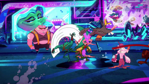 Battletoads, le Beat'em all fait-il un bond de géant ou de grenouille ? - gamescom 2019