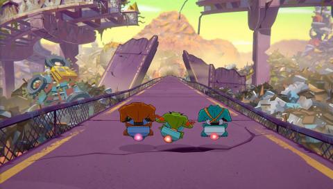 Battletoads, le Beat'em all fait-il un bond de géant ou de grenouille ? - gamescom 2019