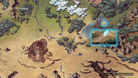 Oninaki, Soluce Complète : Le Lac Lud, combat contre Zale (le Boucher)