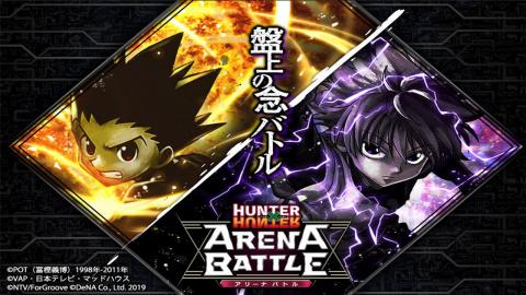 Hunter x Hunter : Arena Battle sur iOS