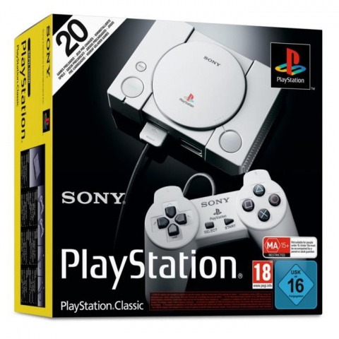 Black Friday : La Playstation Classic Mini à 19,99€ !