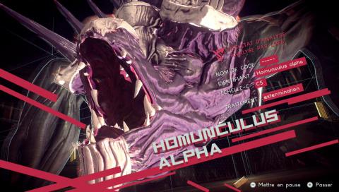 Boss : Homunculus Alpha