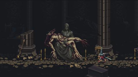 Blasphemous : Le DLC gratuit The Stir of Dawn détaillé et daté