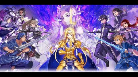 Sword Art Online : Alicization Rising Steel sur iOS