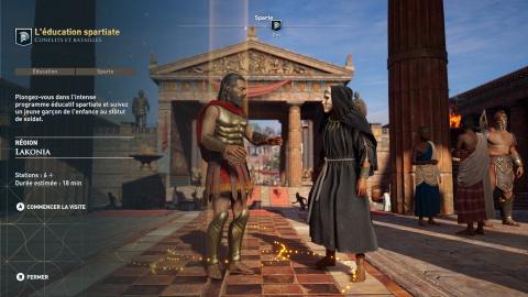 Assassin's Creed Odyssey : Le Discovery Tour daté par Ubisoft
