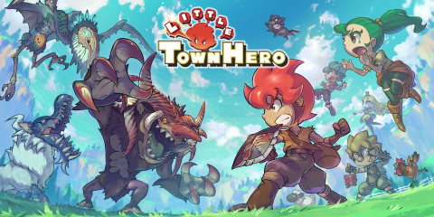 Little Town Hero sur Switch