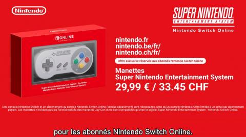 Nintendo Switch Online : 20 jeux SNES débarquent demain