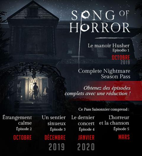 Song of Horror : format épisodique et Season Pass annoncés