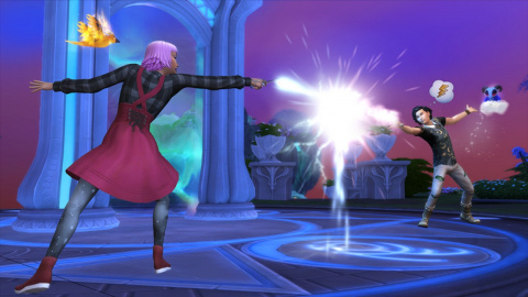 Les Sims 4 : Monde Magique sur ONE
