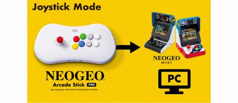 SNK : le Neo Geo Arcade Stick Pro embarquera 20 jeux préinstallés