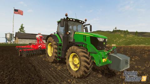 Farming Simulator 20 sur iOS