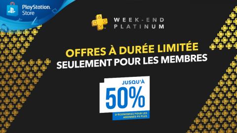 PS Store : jusqu'à 50% de réduction pour les abonnés PS+