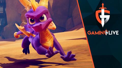 Spyro Reignited Trilogy - On termine un niveau au complet sur Switch