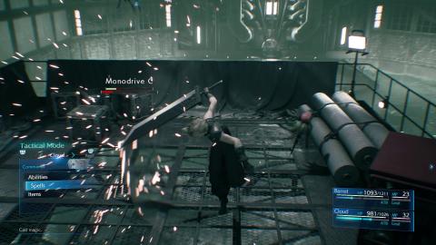 Final Fantasy VII Remake : 15 minutes de gameplay pour tout savoir du système de combat