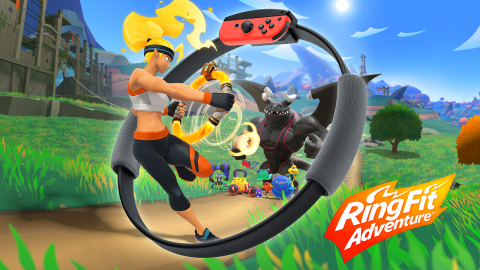 Ring Fit Adventure sur Switch