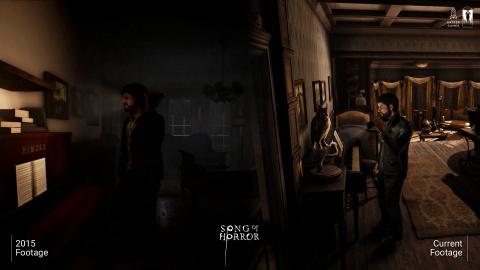 Song of Horror : une vidéo comparative pour les 5 ans de développement
