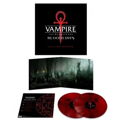 Vampire : The Masquerade : Bloodlines - La bande-originale annoncée sur deux vinyles