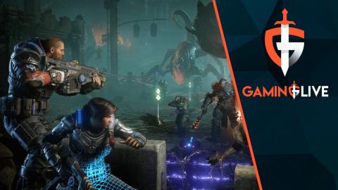 Gears 5 : Nous affrontons la Horde à 3 en écran partagé