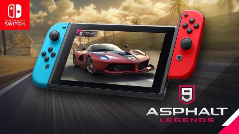 Asphalt 9 : Legends sur Switch