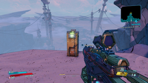 Borderlands 3 : défis de la falaise de l'ascension