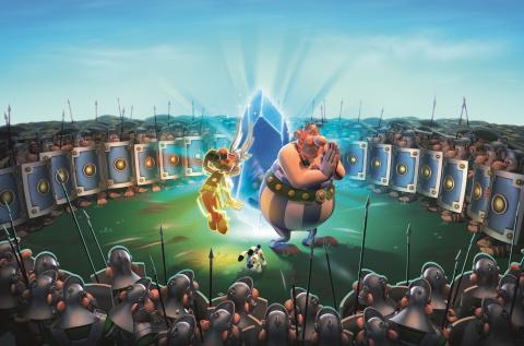 Astérix & Obélix XXL 3 : le Menhir de Cristal sur Switch