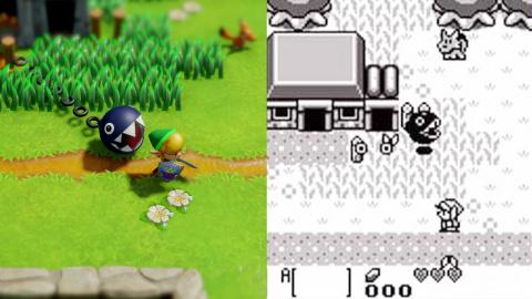 Zelda - Link's Awakening : Le comparatif des différences en vidéo