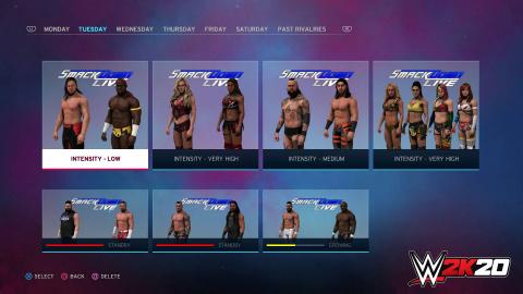 WWE 2K20 aura un mode Univers remanié