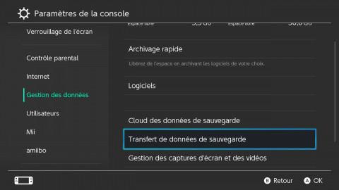 Nintendo Switch OLED : transfert de sauvegarde, partage de compte… comment utiliser la nouvelle Switch sans perdre de données !