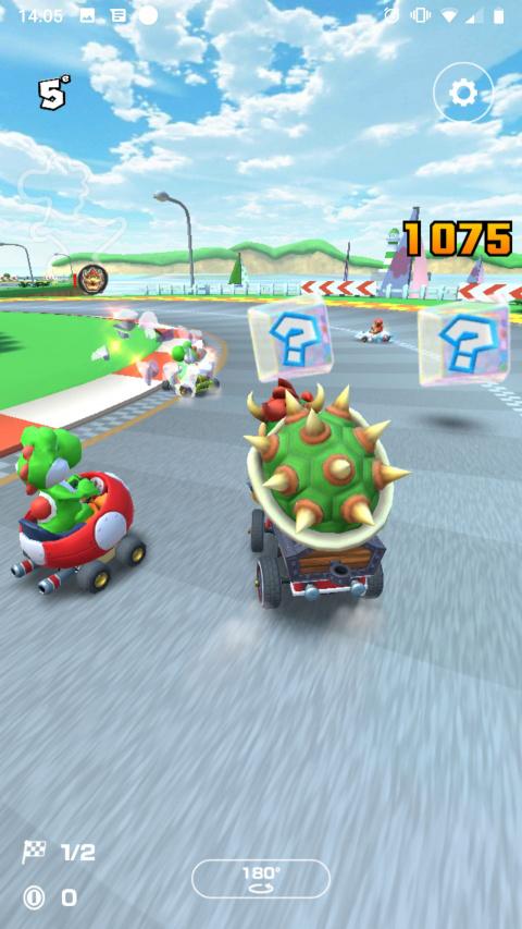 Mario Kart Tour : Près de 124 millions de téléchargements d'après Sensor Tower