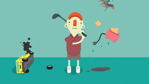 What The Golf ? réinvente le genre du jeu de golf en un coup