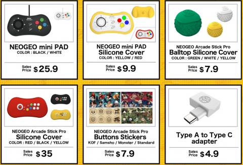 SNK va commercialiser le Neo Geo Arcade Stick Pro au prix de 129,99 dollars