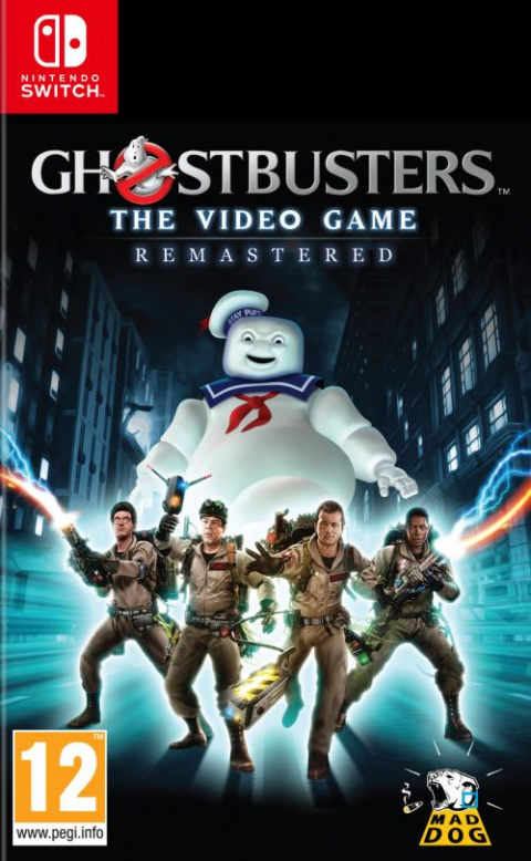 Ghostbusters : The Video Game Remastered sur Switch