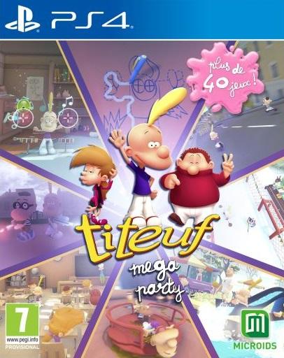 Titeuf Mega Party sur PS4