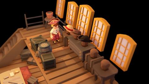 Stranded Sails Explorers of the Cursed Island débarque finalement le 17 octobre