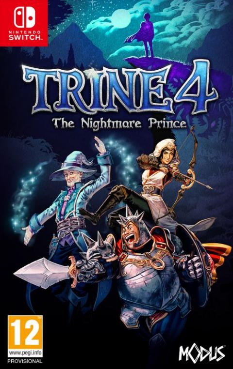 Trine 4 : The Nightmare Prince sur Switch