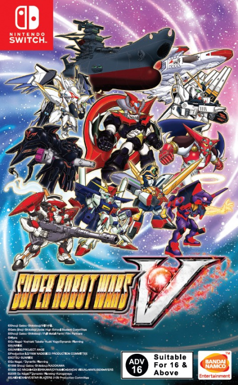 Super Robot Wars V sur Switch
