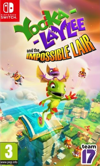 Yooka-Laylee and the Impossible Lair sur Switch
