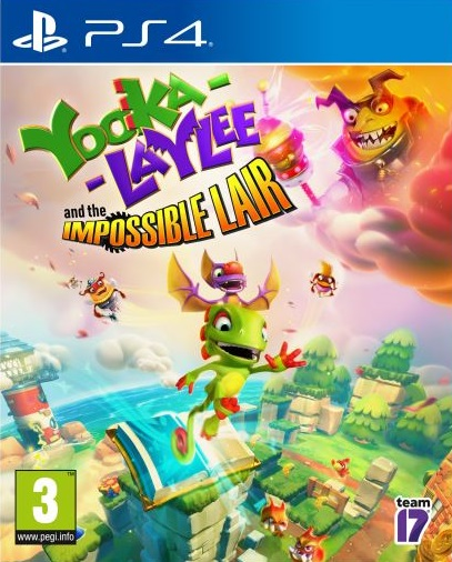 Yooka-Laylee and the Impossible Lair sur PS4