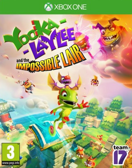 Yooka-Laylee and the Impossible Lair sur ONE