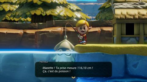 Zelda : Link's Awakening, tout savoir sur la pêche, notre guide