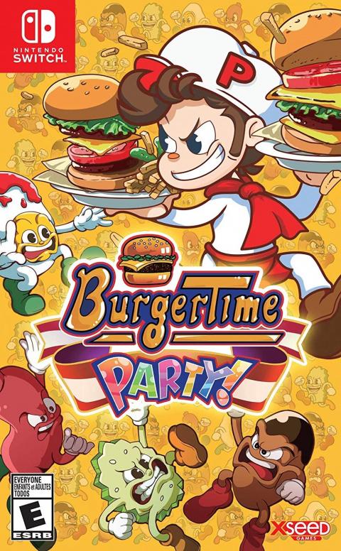 BurgerTime Party! sur Switch