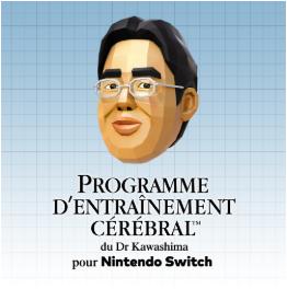 Programme d'Entraînement Cérébral du Dr. Kawashima sur Switch