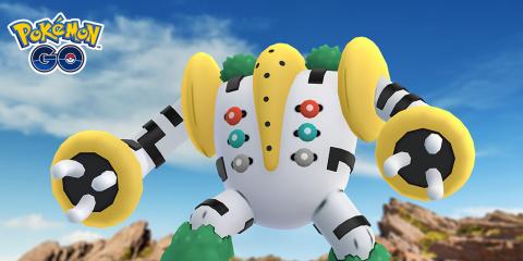 Pokémon GO : le trio des golems et Regigigas arrivent dans les raids