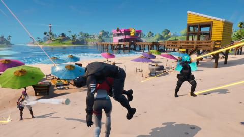 Fortnite : Un mode Search & Destroy aperçu dans les fichiers du jeu