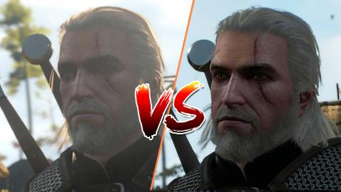 The Witcher 3 - version Switch versus PC en vidéo