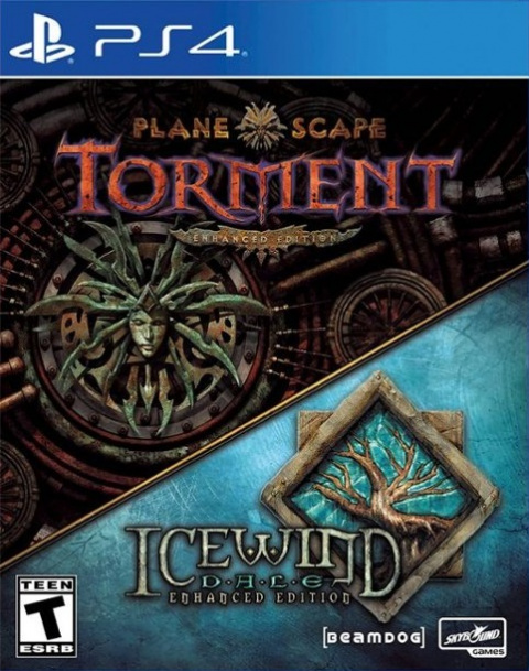 Planescape : Torment : Enhanced Edition + Icewind Dale : Enhanced Edition.