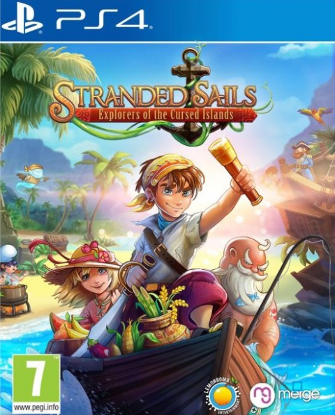 Stranded Sails - Explorers of the Cursed Islands sur PS4