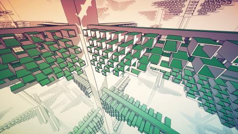 Manifold Garden : le puzzle-game prend date après sept années de développement