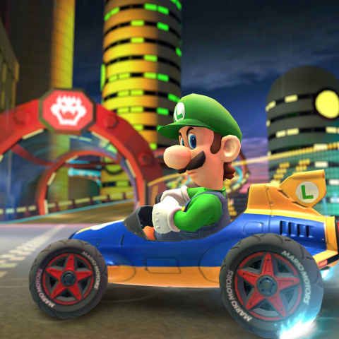 Mario Kart Tour : Luigi, King Boo et Waluigi arrivent avec la saison d'Halloween