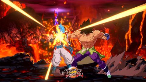 [MàJ] Dragon Ball FighterZ : un premier aperçu de Broly (DBS) dans le V Jump